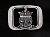 NB01168 *NOS* VINTAGE 1993 **KAPPA ALPHA PSI** FRATERNITY BELT BUCKLE