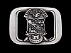 NB01171 *NOS* VINTAGE 1993 **PSI BETA SIGMA** FRATERNITY BELT BUCKLE