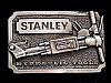 NB05141 VINTAGE 1982 **STANLEY HYDRAULIC TOOLS** BELT BUCKLE