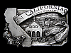 NB07127 VINTAGE 1984 **CALIFORNIA COMMEMEMORATIVE** BELT BUCKLE