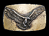 NB11111 VINTAGE 1978 **BALD EAGLE IN FLIGHT** BELT BUCKLE
