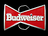 NB15155 VERY COOL VINTAGE 1989 **BUDWEISER** BEER BELT BUCKLE