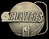 NB24105 *NOS* VINTAGE 1994 ***PORTLAND TRAIL BLAZERS*** NBA BASKETBALL BUCKLE