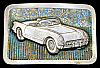 NB24126 VINTAGE 1980 ***1953 CHEVY CORVETTE*** CHEVROLET LTD EDITION BUCKLE