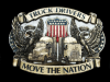 NC09129 VINTAGE 1987 **TRUCK DRIVERS MOVE THE NATION** BELT BUCKLE
