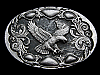 NC19108 VINTAGE 1992 **BALD EAGLE** WESTERN & COWBOY BELT BUCKLE