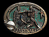 ND03156 VINTAGE 1982 **MAJOR LEAGUE BASEBALL** SPORTS COMMEMORATIVE BELT BUCKLE