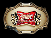 ND09142 VINTAGE 1978 **MILLER HIGH LIFE BEER** BELT BUCKLE