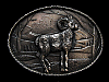 ND27139 VINTAGE 1980 **BIG HORN SHEEP RAM** BELT BUCKLE