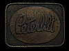 ND27161 VINTAGE 1970s **PETERBILT** TRUCK COMPANY BELT BUCKLE