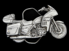 NE03140 VINTAGE 1981 CUT-OUT **HONDA GOLDWING** MOTORCYCLE PEWTER BELT BUCKLE