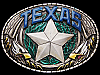 JC01117 AWESOME VINTAGE 1981 IMC **TEXAS** LONE STAR PEWTER BELT BUCKLE