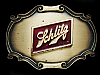 NE19148 VINTAGE 1978 **SCHLITZ** BREWING COMPANY BEER RAINTREE BELT BUCKLE