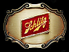 NE21152 VINTAGE 1978 **SCHLITZ** BEER/BREWING COMPANY RAINTREE BELT BUCKLE