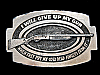 NE23113 VINTAGE 1979 **I WILL GIVE UP MY GUN WHEN THEY...** 2ND AMENDMENT BUCKLE