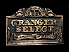 NE23154 VINTAGE 1988 **GRANGER SELECT CHEWING TOBACCO** GREAT AMERICAN BUCKLE