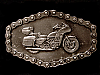 NE10134 *NOS* 1981 GREAT AMERICAN **BIG CLASSIC MOTORCYCLE** CHAIN EDGE BUCKLE