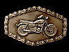 NE10135 *NOS* 1981 GREAT AMERICAN **SMALL CLASSIC MOTORCYCLE** CHAIN EDGE BUCKLE