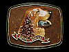 NF03111 VINTAGE 1979 **COCKER SPANIEL** (DOG) BRASSTONE RAINTREE BELT BUCKLE