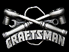 JL09130 VINTAGE 1993 CUT-OUT **CRAFSTMAN TOOLS** RATCHET WRENCH PEWTER BUCKLE