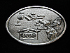 NG13149 VINTAGE 1984 **ISLANDS OF HAWAII** PEWTER ARROYO GRANDE BELT BUCKLE