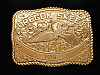 NG21128 VINTAGE 1970s **OREGON SKEET** SHOOTING TROPHY CRUMRINE BELT BUCKLE