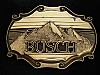 NG27163 VINTAGE 1978 **BUSCH** BEER/BOOZE BRASSTONE RAINTREE BELT BUCKLE