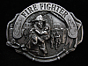 NH07106 VINTAGE 1993 **FIRE FIGHTER** PEWTER ARROYO GRANDE BELT BUCKLE