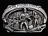NI05102 *NOS* VINTAGE 1988 **LAW ENCORCEMENT COMMEMORATIVE** PEWTER BELT BUCKLE