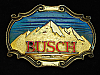 OA27141 VINTAGE 1978 **BUSCH** BREWING COMPANY BEER BOOZE RAINTREE BELT BUCKLE
