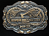 OA31154 *NOS* VINTAGE 1970s **SILVER DOLLAR CITY POP. 28** THEME PARK BUCKLE