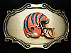 OC07153 VINTAGE 1978 **CINCINNATTI BENGALS** SPORTS FOOTBALL RAINTREE BUCKLE