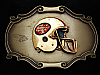 OC07164 VINTAGE 1978 **SAN FRANCISCO 49ERS** SPORTS FOOTBALL RAINTREE BUCKLE