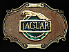 OC11106 COOL VINTAGE 1970s **JAGUAR** LUXURY CAR COMPANY RAINTREE BELT BUCKLE