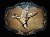 OD15102 VINTAGE 1970s **MALLARD DUCK** HUNTING BRASSTONE RAINTREE BELT BUCKLE