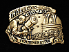 OE01157 *NOS* VINTAGE 1985 **HALLEY'S COMET** ASTRONOMY SOLID BRASS BARON BUCKLE