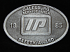 OE17106 VINTAGE 1985 **IP COMPANY GALESBURG SERVICE AREA SAFETY AWARD** BUCKLE