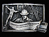OE17117 VINTAGE 1982 **AMERICAN CONSTRUCTION WORKER** COMMEMORATIVE BELT BUCKLE