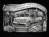 OF11164 VINTAGE 1986 **AMERICAN AGRICULTURE COMMEMORATIVE** PEWTER BELT BUCKLE