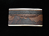 PF11150 *NOS* VINTAGE 1970s KENNETH REID **MOUNTAIN SCENE** INLAID ART BUCKLE
