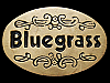 JI15169 NICE VINTAGE 1978 ***BLUEGRASS*** MUSIC SOLID BRASS BUCKLE
