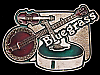 JI17153 VINTAGE 1970s ***BLUEGRASS*** (FIDDLE BANJO & GUITAR) BUCKLE