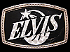 JI17113 VERY COOL VINTAGE 1970s ***ELVIS PRESLEY*** ROCK BELT BUCKLE