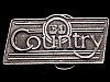 JI25173 VINTAGE 1970s ***ELEKTRA ASYLUM*** COUNTRY MUSIC RECORDS BELT BUCKLE