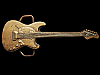 JI15112 GREAT VINTAGE 1978 CUT-OUT ***ELECTRIC GUITAR*** SOLID BRASS BUCKLE