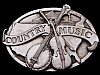 JI17151 REALLY NICE VINTAGE 1984 ***COUNTRY MUSIC*** BELT BUCKLE