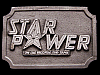 JI25172 NICE VINTAGE 1970s ***STAR POWER ON CBS RECORDS*** BELT BUCKLE