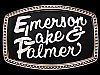 JI17119 COOL VINTAGE 1970s **EMERSON LAKE & PALMER** ROCK MUSICIANS BELT BUCKLE