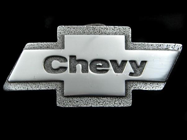 Amichevole Sb11152 Vintage 1980 ** Chevy ** (papillon Logo) Auto Annuncio Fibbia Cintura Con Una Reputazione Da Lungo Tempo
